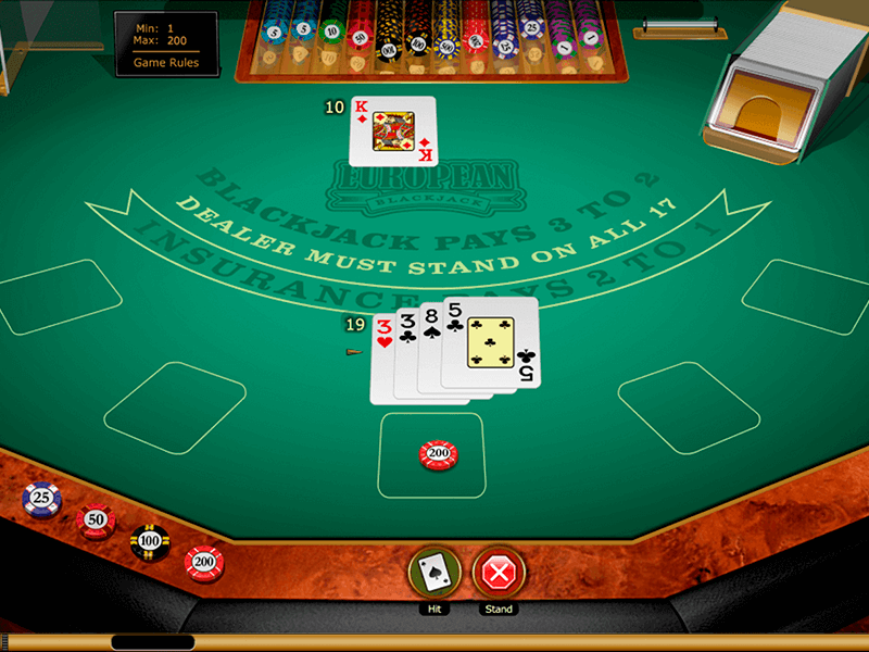 Steps to play free blackjack through the web